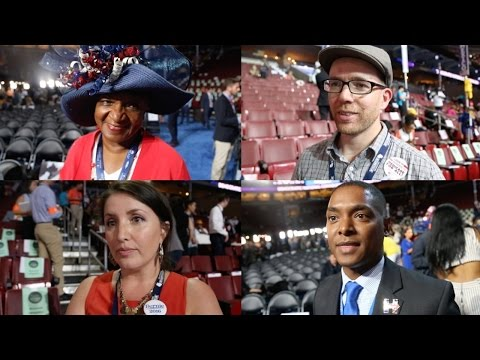 Watch Delegates React To Those Leaked DNC Emails