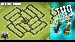 Clash of Clans - (TH9) DE farming Base design 2015 + Speed Build | Solid DE Protection