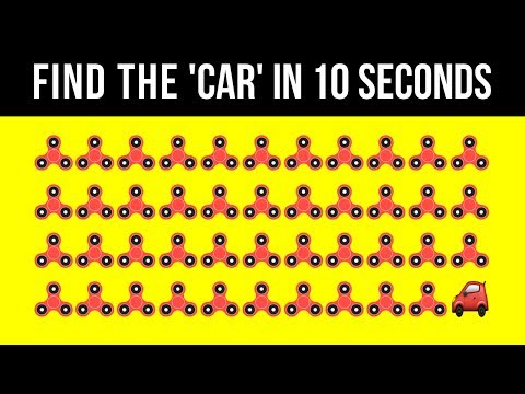 ONLY GENIUSES CAN SOLVE THESE IN 30s! - (98% fail test)