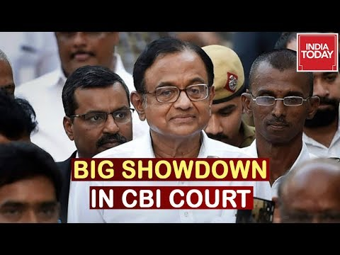 Big Showdown In CBI Court; Solicitor General Vs Chidambaram's Counsel At CBI Court
