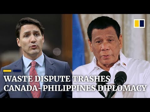 Philippines recalls diplomats from Canada in ongoing illegal waste row