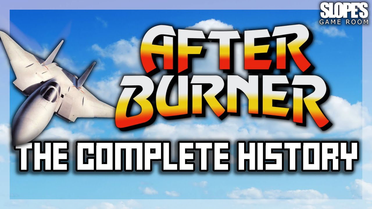 After Burner: The Complete History | RETRO GAMING DOCUMENTARY