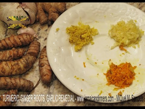 Bladder Infection Remedial: Turmeric, Ginger Root & Garlic Benefits
