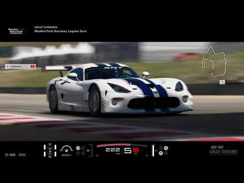 ExileMari - Laguna Seca Circuit Training - Gran Turismo®SPORT