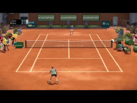 First impression World Tour Tennis