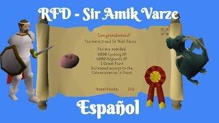 [OSRS] Recipe For Disaster - Sir Amik Varze (Español)