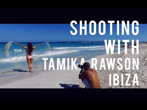 Shooting with Tamika Rawson - Ibiza