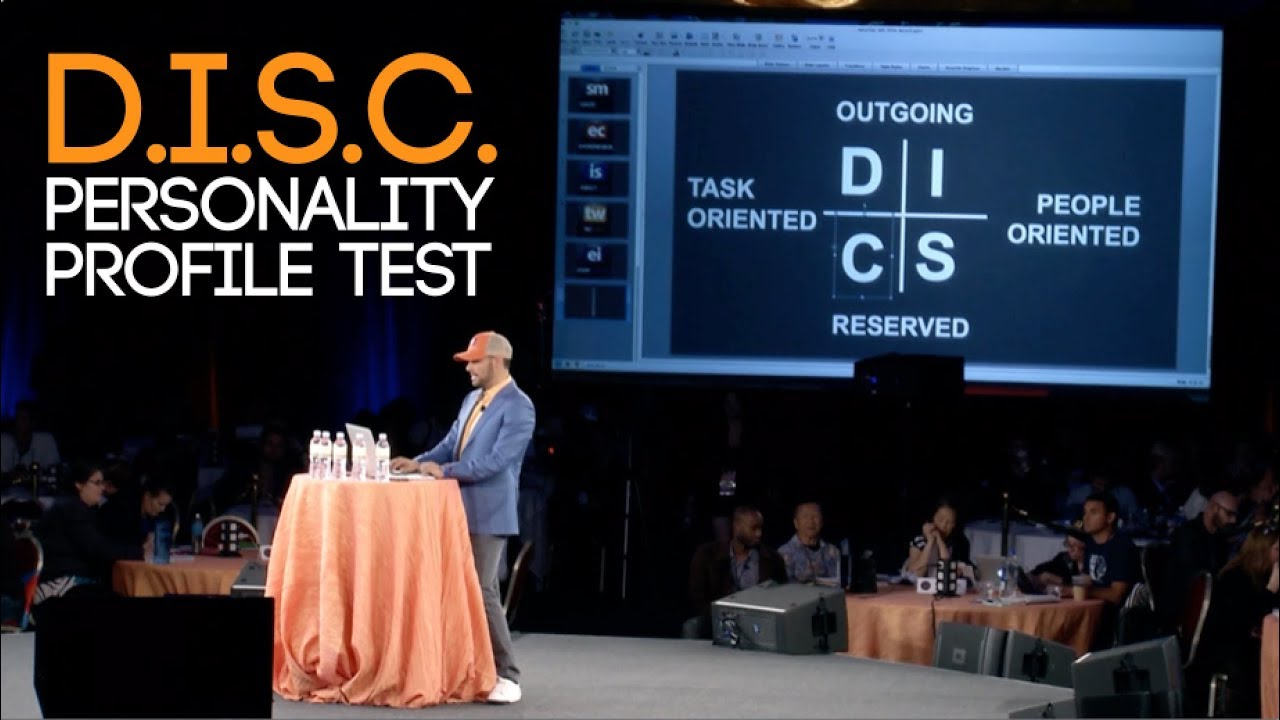 D I S C  PERSONALITY PROFILE TYPES - TRAINING AND TEST RESULTS | Chris  Record Vlogs 121
