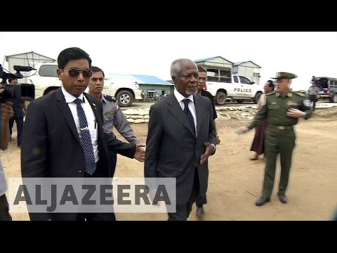 Kofi Annan vows to lead impartial Myanmar mission