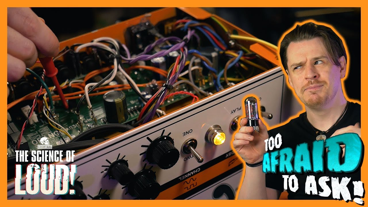 Valve Amplifier Analysis: How Tube Amps Work | Too Afraid To Ask