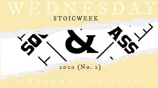 Wednesday Information Video 36 - #squareandcompass finishes #stoicweek2020