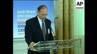 AUSTRIA: COMPENSATION TO NAZI-ERA FORCED LABOURERS