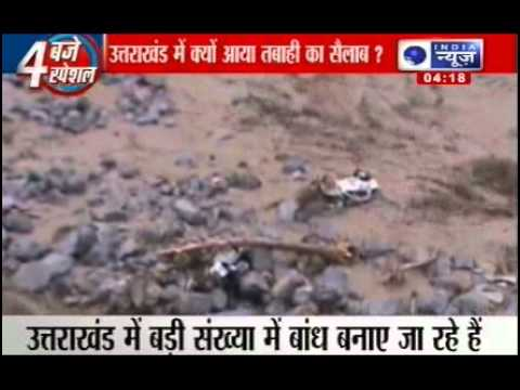 uttarakhand flood 2013 reasons of disaster youtube