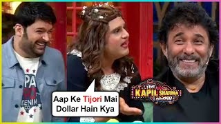Krushna Abhishek aka Sapna Makes FUN Of Deepak Tijori & Rahul Roy | Ashiqui | The Kapil Sharma Show