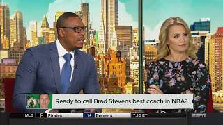 Ready To Call Brad Stevens Best Coach In NBA? | NBA Countdown | May 5, 2018