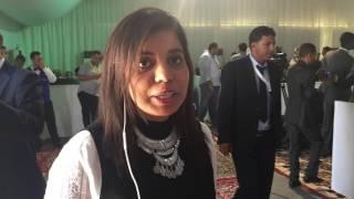 ولة داخل المركز الإعلامي للقمة العربية في موريتانيا