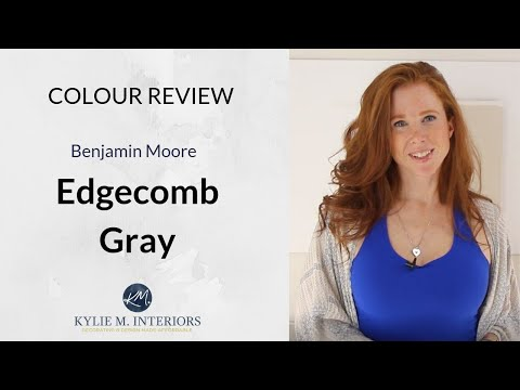 Paint Colour Review: Benjamin Moore Edgecomb Gray
