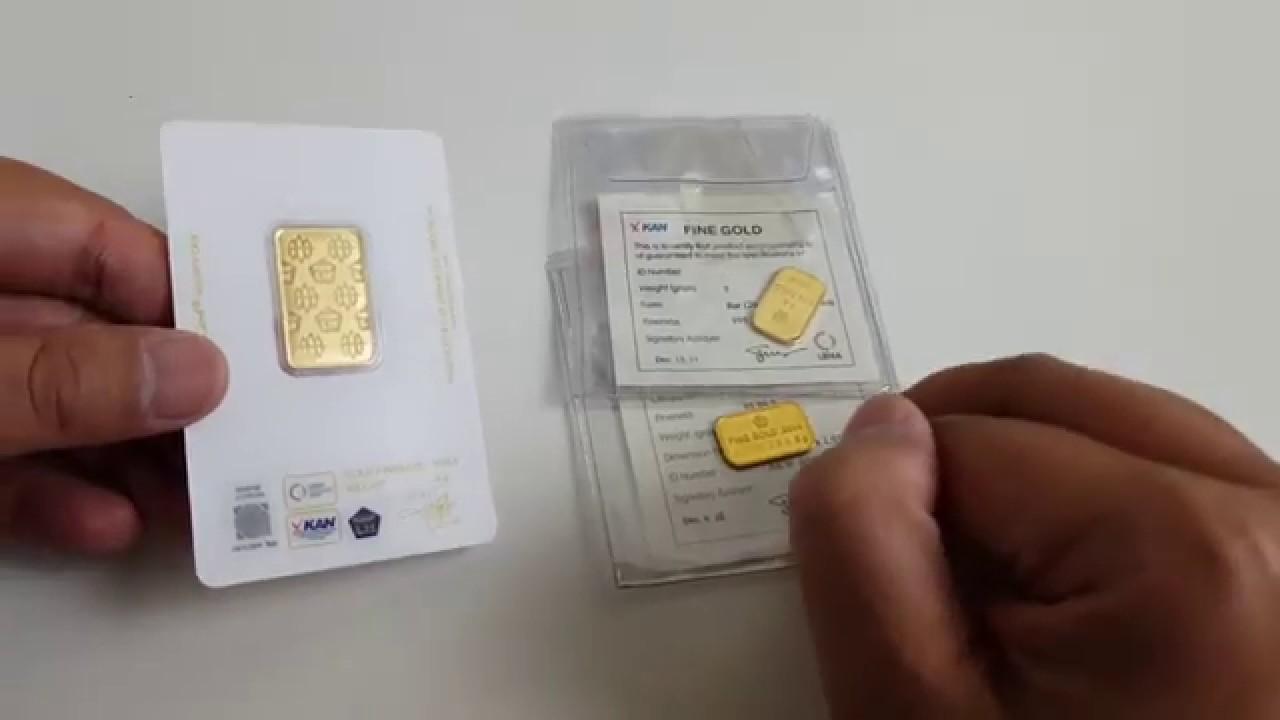 Pilih Emas Lm Antam Cetakan Lama Atau Cetakan Baru Youtube