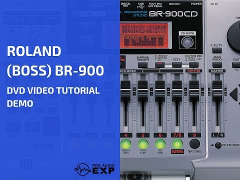 •+ Watch Full Roland (Boss) BR-800 DVD Video Training Tutorial Help