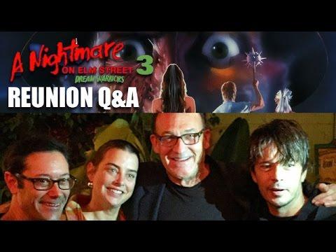A Nightmare on Elm Street 3: Dream Warriors Reunion Q&A