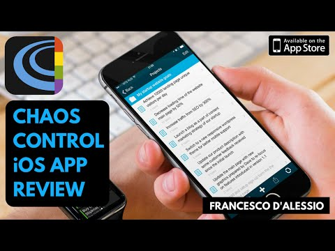 Chaos Control iOS App Review