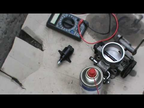 Чистка регулятора холостого хода и дроссельного узла Chevrolet Lacetti 1.8 LDA