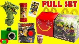 2017 The Lego Ninjago Movie McDonald's Happy Meal Toys Full Set