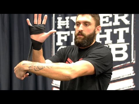Learn MMA - How To Put On Hand Wraps - Hyper Fight Club