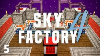 SkyFactory 4 Ep. 5 Automated Lava Production + Early Power