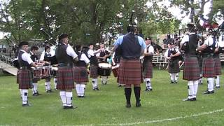 Chatham Kent Police Services Pipe Band G5 Maxville 3 Aug 2013