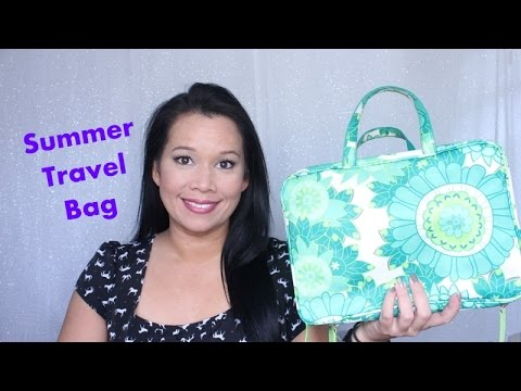 Summer Travel Makeup Bag- I'm Going to Mexico!!