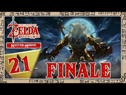 🔴 THE LEGEND OF ZELDA BREATH OF THE WILD [MASTER-MODE] Part 21: FINALE - Ganon Battle