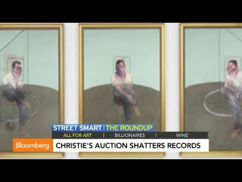 Christie's Auction Shatters Records in $745M Sale