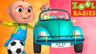 Zool Babies Series - Ball Chase Episode (Single) | Cartoon Animation For Children | Kids Shows