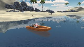 Drive Boat Simulator Simple Game