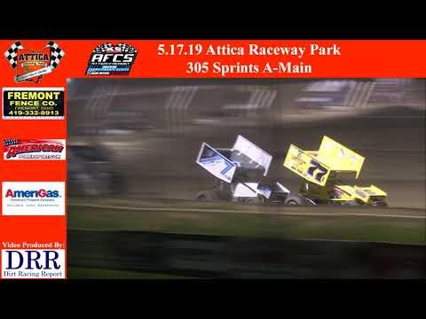 5.17.19 Attica Raceway Park 305 Sprints A-Main