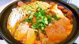 韓式著名部隊鍋的家庭做法 【美食天堂 CiCi's Food Paradise】