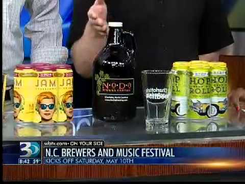 04.29.14:  AM Bounce | North Carolina Brewers & Music Festival