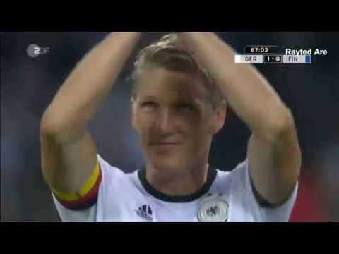 Bastian Schweinsteiger (Last Match) Germany vs Finland (31.Aug.2016)