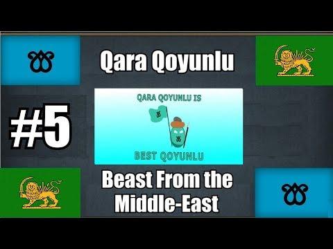 [EU4] Qara Qoyunlu #5 Defeating the Ottomans, Persia formed
