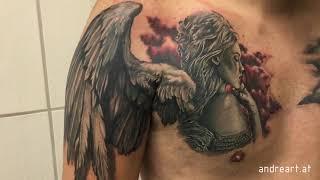 Video Angel Chest Tattoo download MP3, 3GP, MP4, WEBM, AVI, FLV Agustus 2018