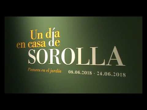 Exposición UN DÍA EN CASA DE SOROLLA. PINTORES EN EL JARDÍN