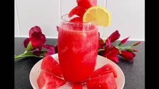 FN Vlogs-R#67তরমজর জস  Watermelon Juice  Tasty Juice Recipe  Bangla Recipe