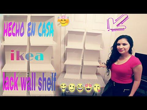 EASY IDEA💡HOW TO MAKE A LACK WALL SHELF INSPIRED ON IKEA (CHEAPER💰)