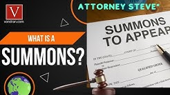 What is a Summons?