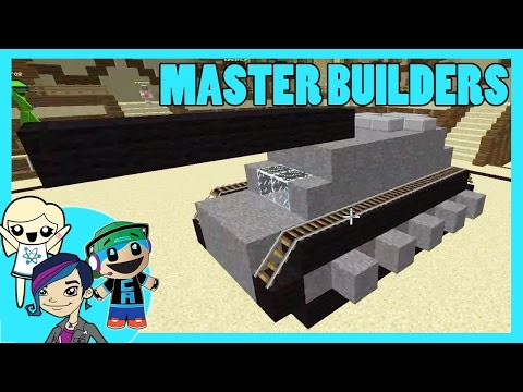 Master Builders Building Challenge on Mineplex with Cybernova and Radiojh Audrey