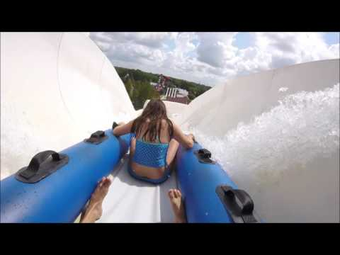 Blue Bayou Waterpark Baton Rouge, Louisiana Conja Waterslide GoPro Hero+