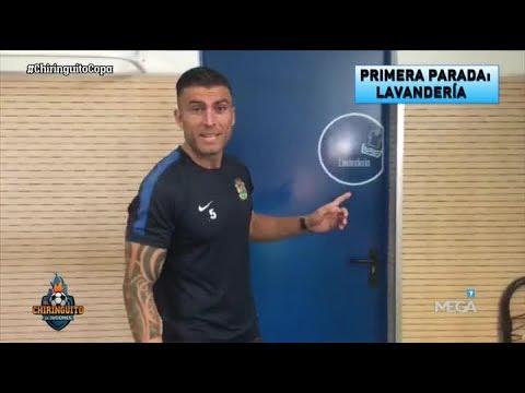 ¿Cómo será EL VESTUARIO del Real Madrid en el campo del Fuenlabrada?