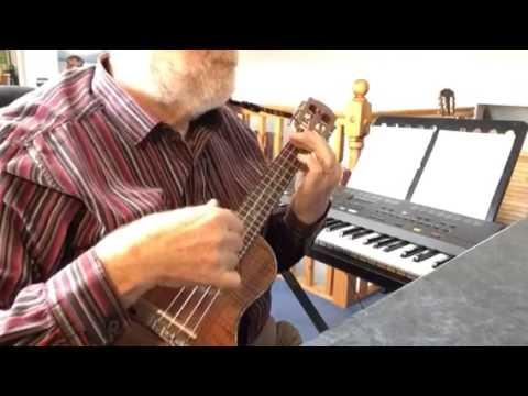 Mull Of Kintyre Solo Ukulele Colin Tribe On Leho Youtube