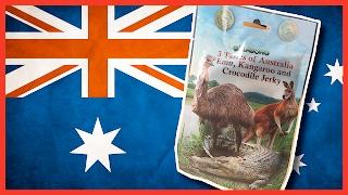 Kangaroo, Crocodile & Emu Jerky - 3 Tastes of Australia